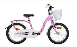 """18"""" Kinderrad Noxon """"Sugary"""" pink mit Korb"""