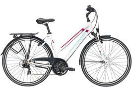 Trekkingbike Pegasus Piazza 28 Zoll 21 Gang Kettenschaltung weiß