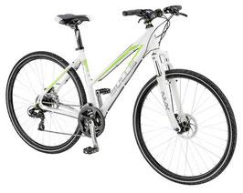 Bulls Crossbike 1 Disc Damen RH 48 weiß/grün 553-01748