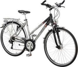 Pegasus Premio SL Trekking Bike RH 45 Schwarz/silber 24 Gang 500-73345