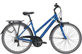Trekkingbike Pegasus Piazza 28 Zoll 21 Gang Kettenschaltung blau/matt
