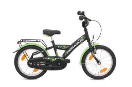 "18"" Kinderrad Pegasus Kids schwarz/grün 80021"