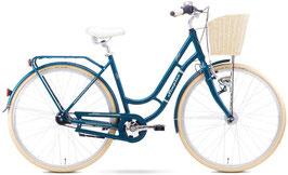 "Excelsior Swan-Retro Damen Retro Bike petrol 28"" 3 Gang 76821"