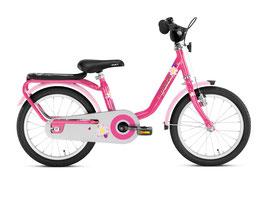 """16"""" Kinderrad Puky Steel 16 pink"""