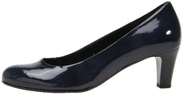 Gabor Fashion Pumps Lack Blau 50mm