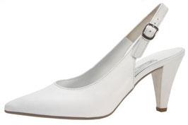 Gabor Fashion SlingPumps Offwhite-Perlato 70mm Brautschuhe