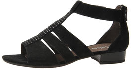 Gabor Fashion Sandalette Nubuk Schwarz 30mm
