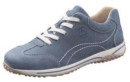 Gabor Comfort Nubuk Jeansblau Weite G