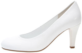 Gabor Fashion Pumps Weiss-Nappa 70mm Brautschuhe