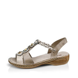 Ara Sandaletten Panna/Cemento Softleder Weite G