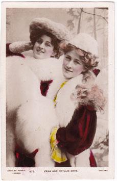 Zena and Phyllis Dare. 975