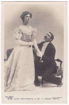 Lilian Braithwaite and C Aubrey Smith. Beagles 349 E