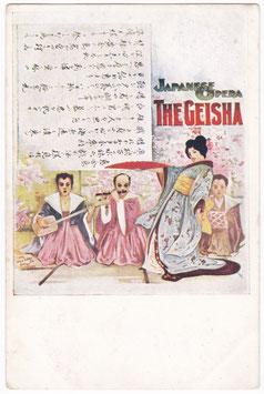 The Geisha. Japanese Opera. David Allen & Sons
