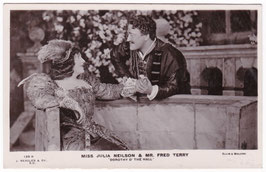"Julia Neilson and Fred Terry ""Dorothy O' The Hall"" Beagles 128 R"