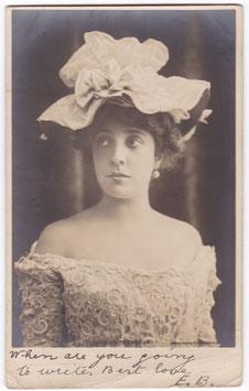 Olga Nethersole. Rotary postcard