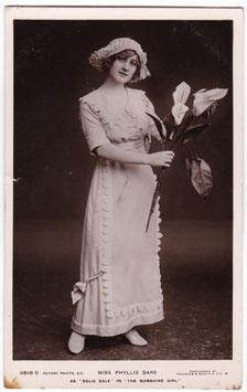 """Phyllis Dare """"The Sunshine Girl"""" Rotary 11818 C"""