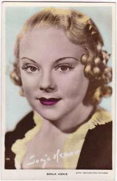 Sonja Henie. Art Photo 132