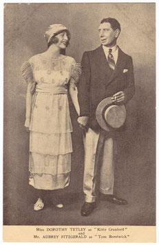 "Dorothy Tetley and Aubrey Fitzgerald ""The Great Day"" Drury Lane"