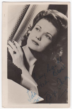 Joyce Hern. Signed photograph