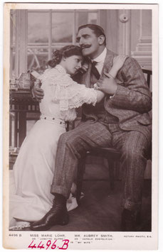 """Marie Lohr and C. Aubrey Smith """"My Wife"""" Rotary 4496 B"""