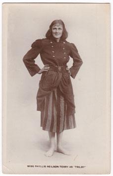 Phyllis Neilson-Terry as Trilby. Lilywhite