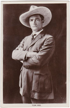 Tom Mix. Picturegoer 110