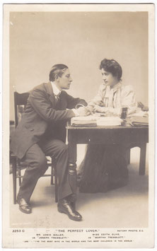 """Lewis Waller and Edyth Olive """"The Perfect Lover"""" Rotary 3253 C"""