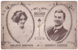 Maudie Archer and Harry Cooke. Comedy Act