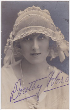 Dorothy Ward. Signed postcard