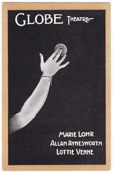 Press The Button. Marie Lohr. Globe Theatre.