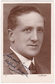 Wilfrid Hudson. Leeds tenor. Fielding 513. Signed postcard