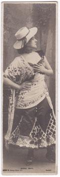 Edna May. Rotary bookmark