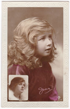 Gladys Cooper and daughter Joan. Rotary B 75-4