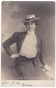 Violet Vanbrugh. Rotophot 7720