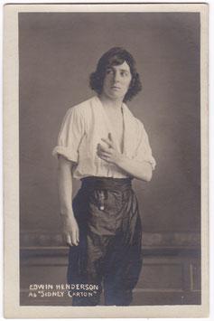 Edwin Henderson as Sidney Carton