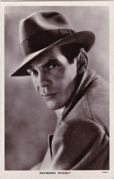 Raymond Massey. Picturegoer 915