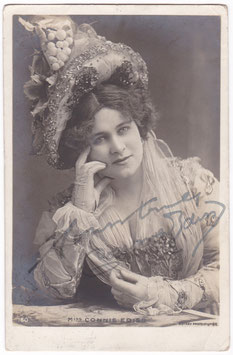 Connie Ediss. Rotary 160. Signed postcard