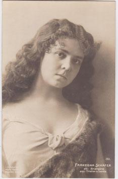 Franziska Schäfer as Brangäne. Hahn Nachfl 153