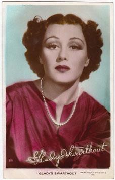 Gladys Swarthout. Art photo 94