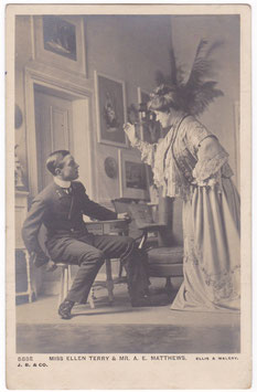 Ellen Terry and A E Matthews. Beagles 588 E