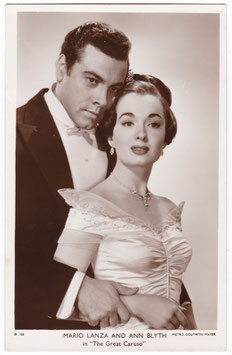 Mario Lanza and Ann Blyth in The Great Caruso. Picturegoer D 105