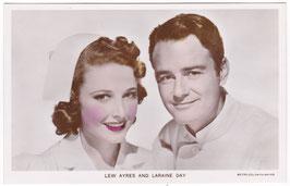 Lew Ayres and Laraine Day. Film Partners PC 301