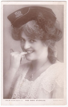Marie Studholme. Rotary 1915 M