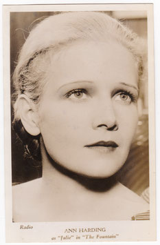 "Ann Harding in ""The Fountains"""