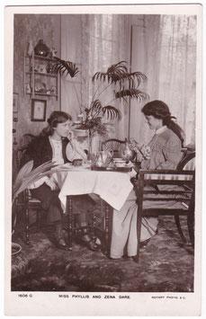 Phyllis and Zena Dare. Rotary 1606 G