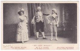 """Decima Moore. Sybil Arundale. """"My Lady Molly"""" Davidson"""