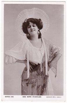Marie Studholme. Davidson Series 1365