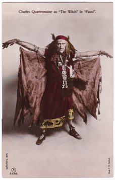 """Charles Quartermaine as The Witch """"Faust"""" Aristophot EB 118"""