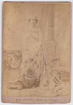 Dorothea Baird as Trilby. Alfred Ellis Cabinet photo