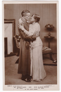 "Dennis Eadie, Gladys Cooper ""My Lady's Dress"" Rotary 6930 C"